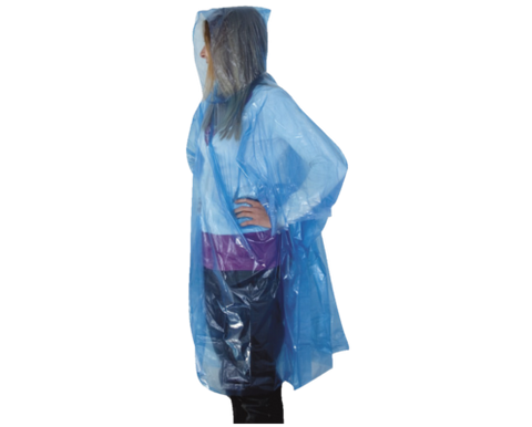 Pelerina Rain Poncho Light Travel Safe