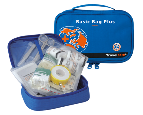 Prva pomoč First Aid Basic Bag Plus