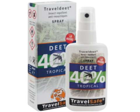 Spray Travel Deet 40 % Travel Safe