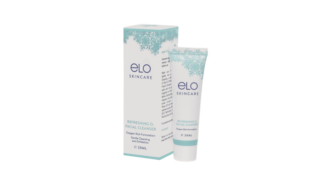 ELO Refreshing O<sub>2</sub> Facial Cleanser (20 ml)