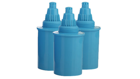 Cartridges for D-FLUORIDE Pitcher DFC48 (Blue)