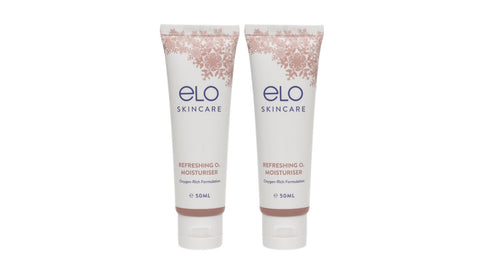 ELO Refreshing O<sub>2</sub>Moisturiser (50ml) (Twin Pack)