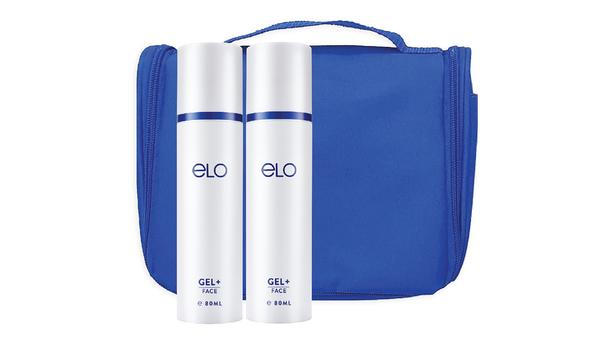 ELO Gel+ 80ml (Twin Pack) with Travel Pouch (Blue)