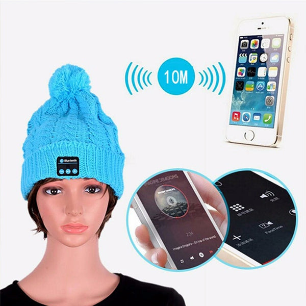 Bluetooth Music Beanie for Android/Iphone