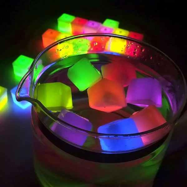 Colorful Drinking Cubes