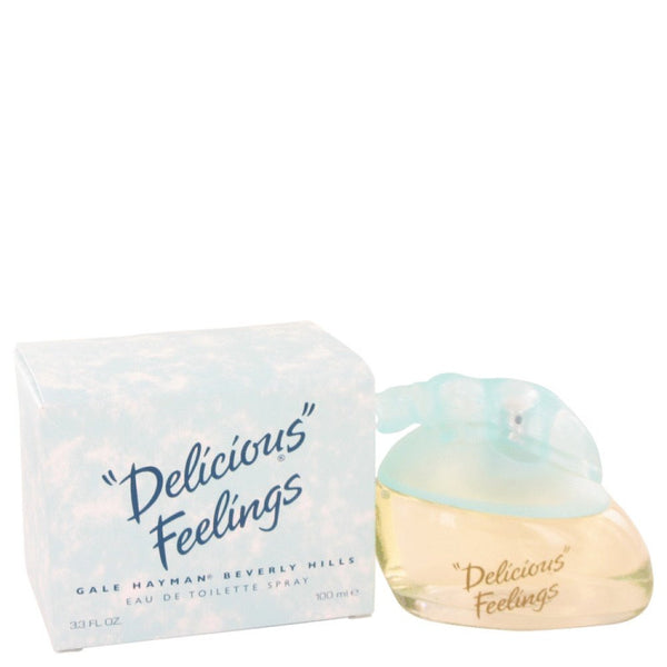 Delicious Feelings By Gale Hayman Eau De Toilette Spray (new Packaging) 3.4 Oz
