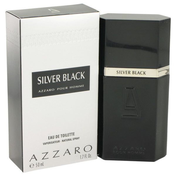 Silver Black By Loris Azzaro Eau De Toilette Spray 1.7 Oz