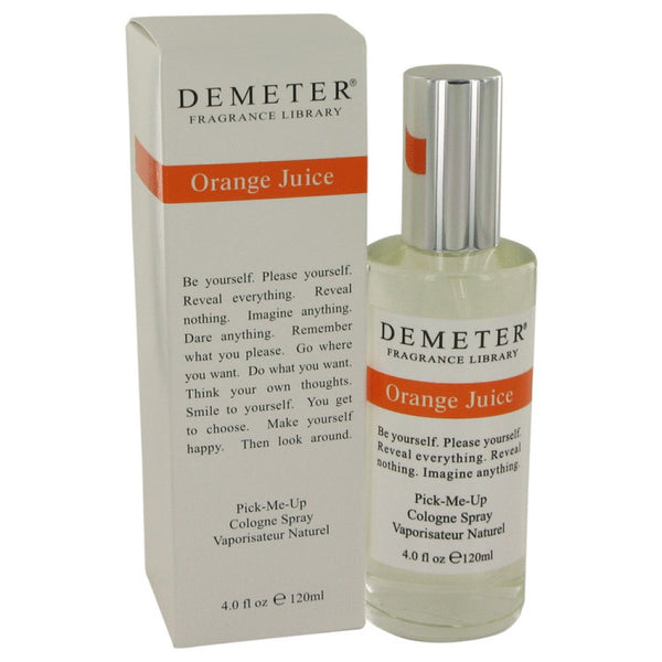 Demeter By Demeter Orange Juice Cologne Spray 4 Oz