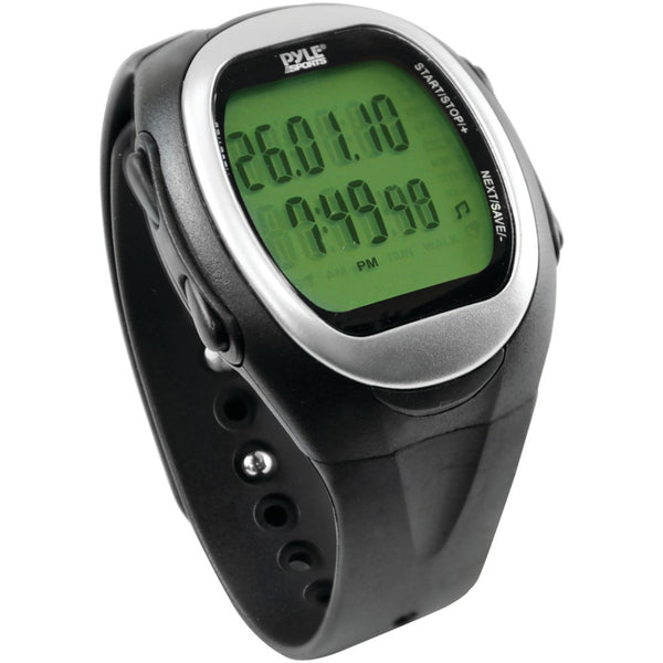 Pyle Speed & Distance Watch For Running Jogging & Walking