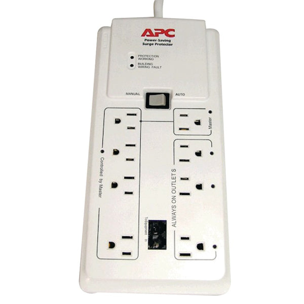 Apc 8-outlet Energy-saving Surge Protector