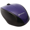 Verbatim Wireless Multi-trac Blue Led Optical Mouse (purple)