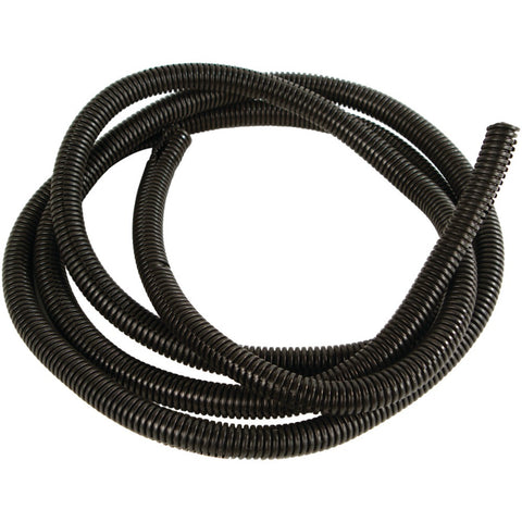 "American Terminal Black Split-loom Cable Tubing 100ft (.38"")"