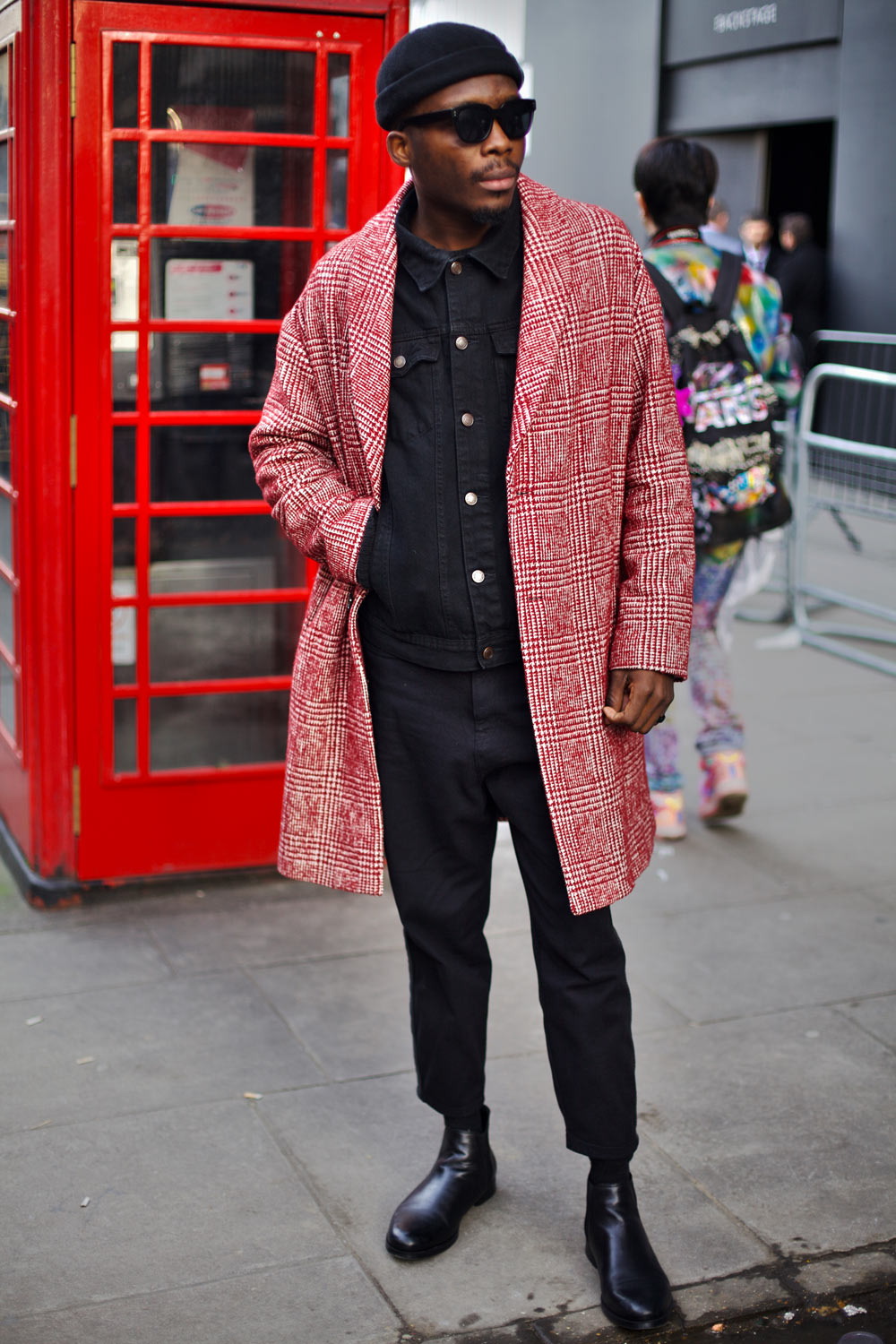 Miista Street Style from London Fashion Week 2018