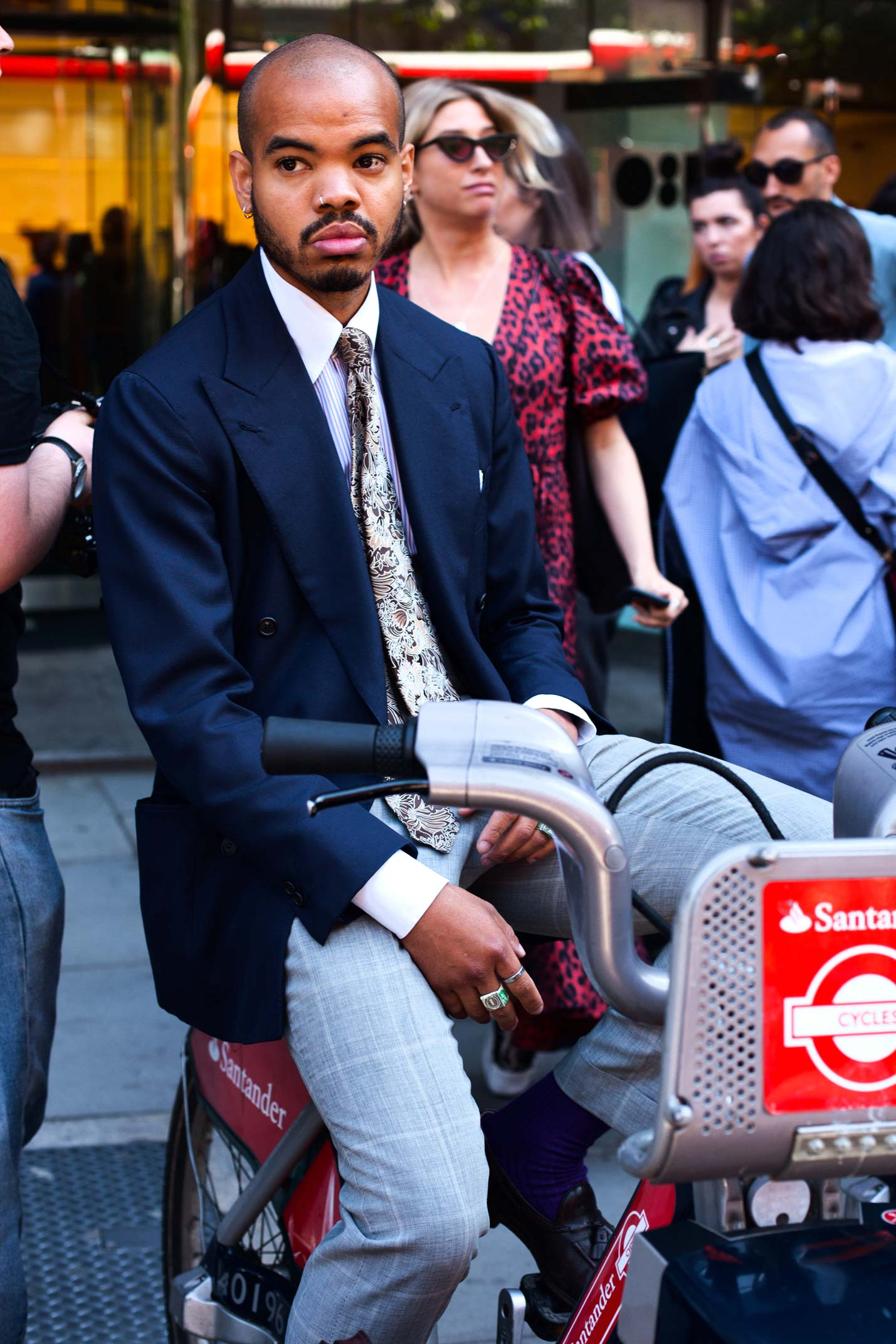 Miista Streetstyle from London Fashion Week Men's