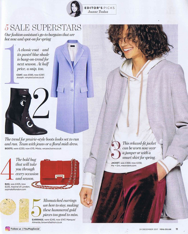 Alycia Boot by Miista featured in You Magazine