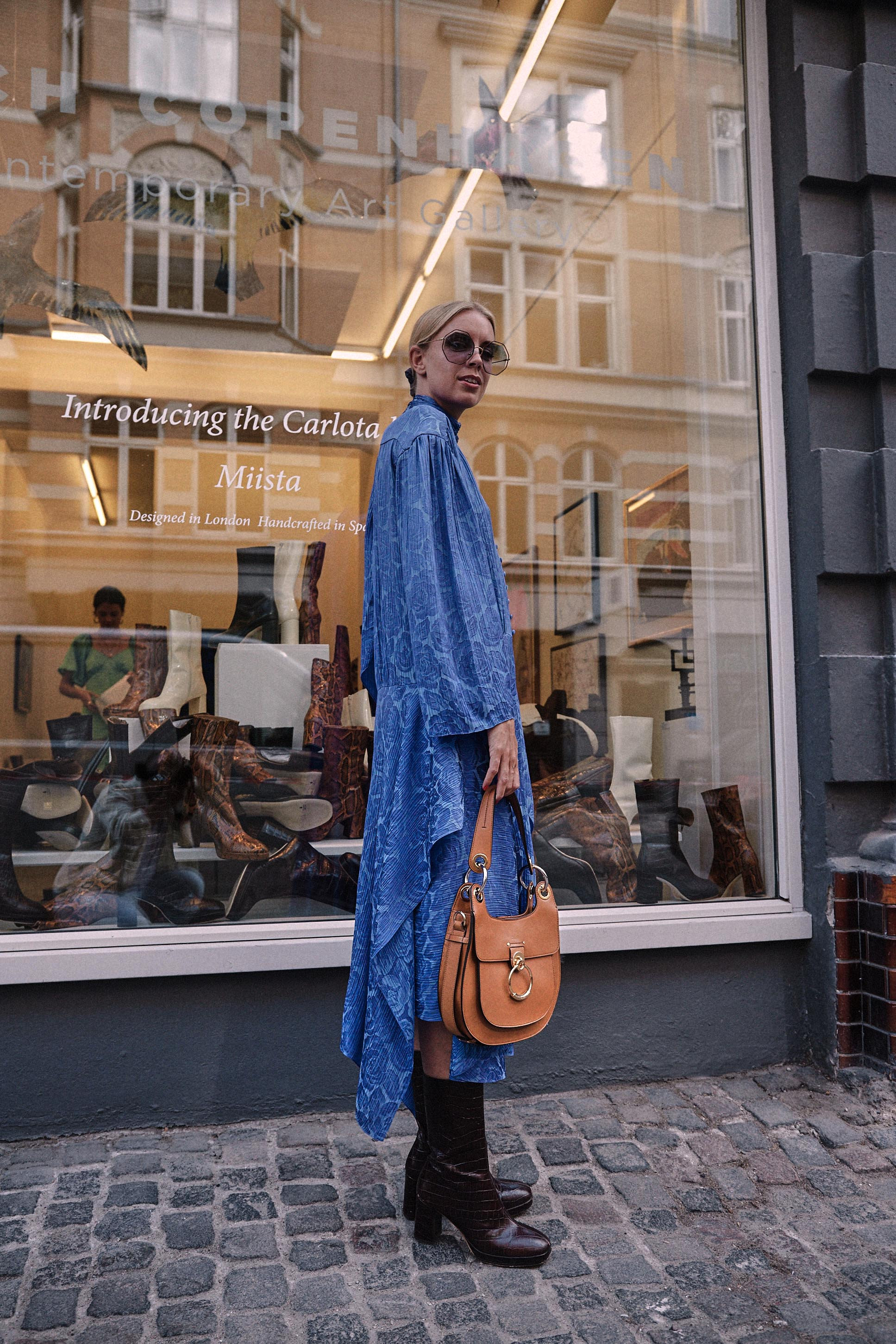 Copenhagen Fashion Week Streetstyle shot for Miista by Paul Perelka