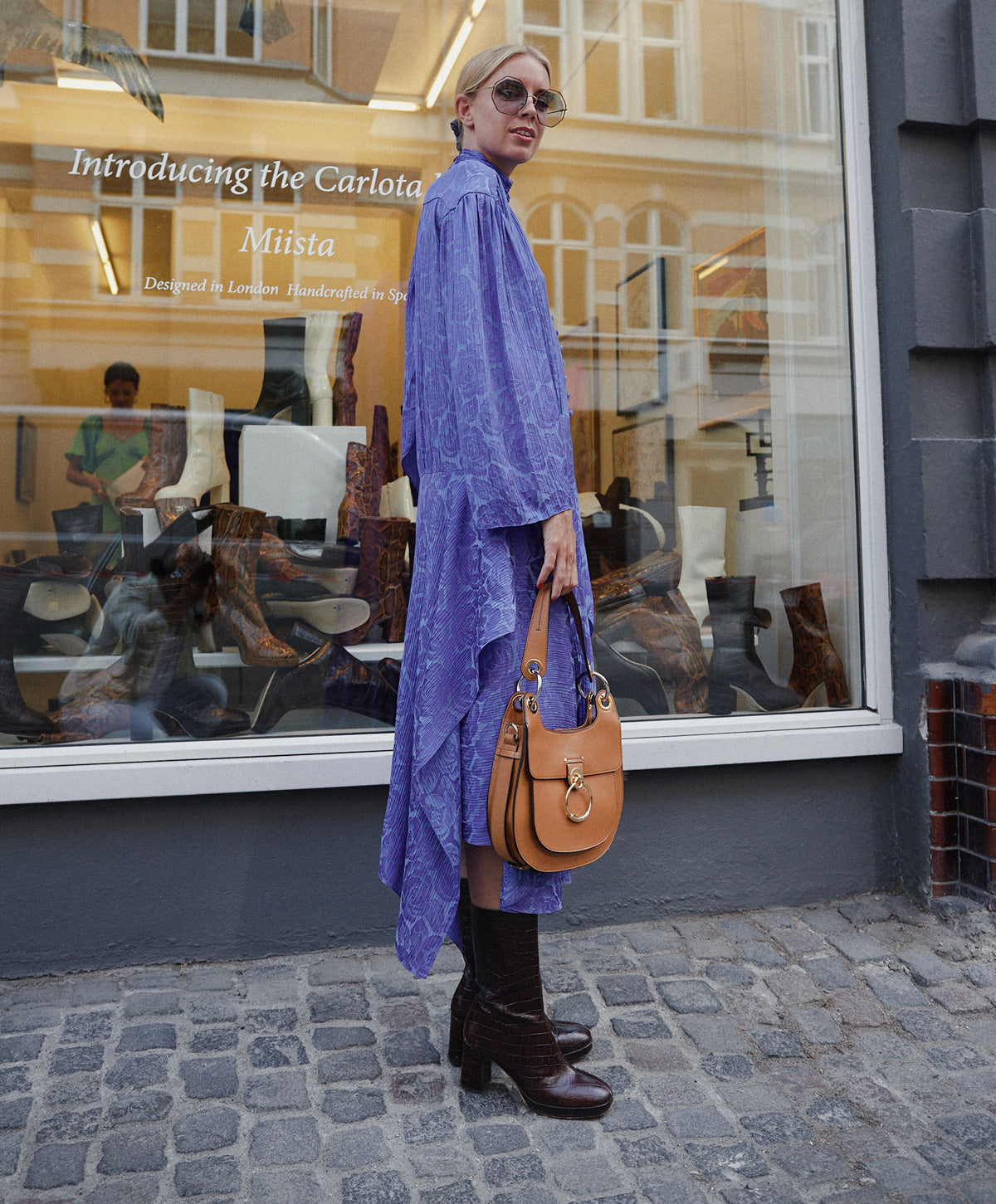 Hanna Stefansson at Miista Event during Copenhagen Fashion Week