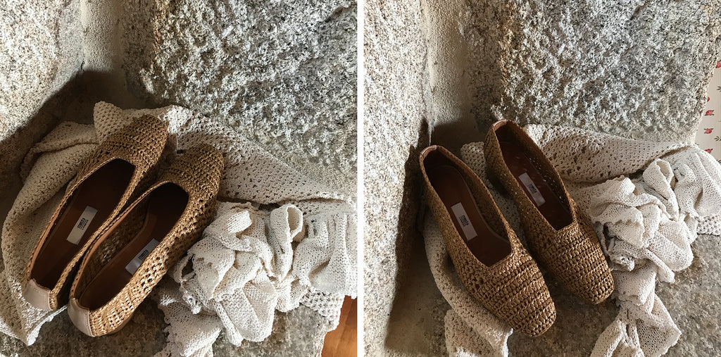 d1726a8a4a Miista Noa heels crafted in natural raffia