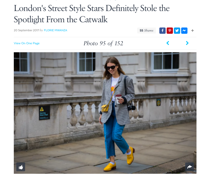 Dana Yellow Loafers from our diffusion line E8 by Miista featured in Vogue