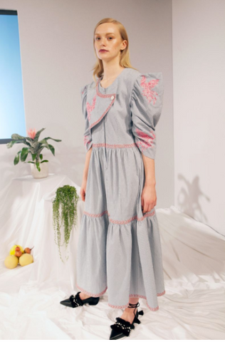 E8 by Miist diffusion line featured in Vogue SS18 Presentation
