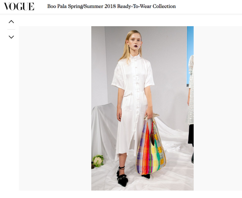 E8 by Miista diffusion line featured in Vogue