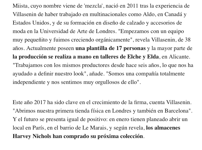 Miista Interview in Vanity Fair Spain