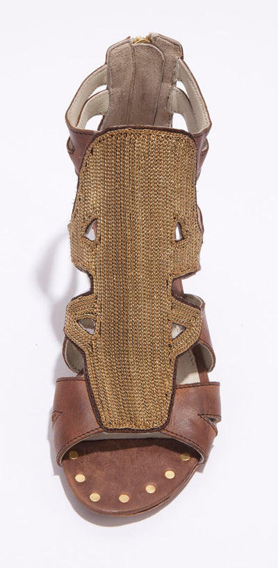 ASTERIA-BROWN - Miista Sandals
