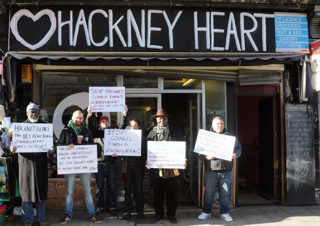 hackney-heart-protest