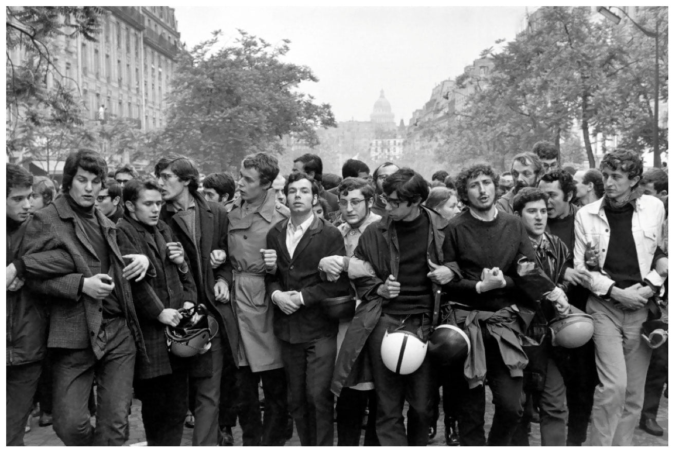 Paris 68 Henri Cartier Bresson