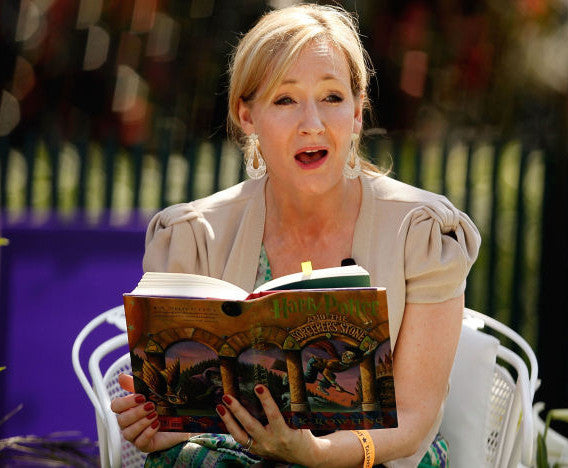 J K Rowling Harry Potter Author