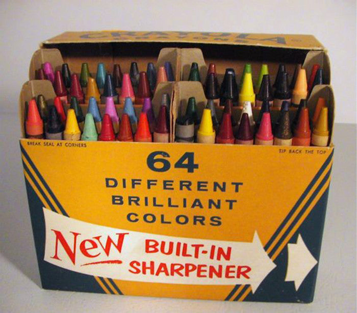 crayons article colours