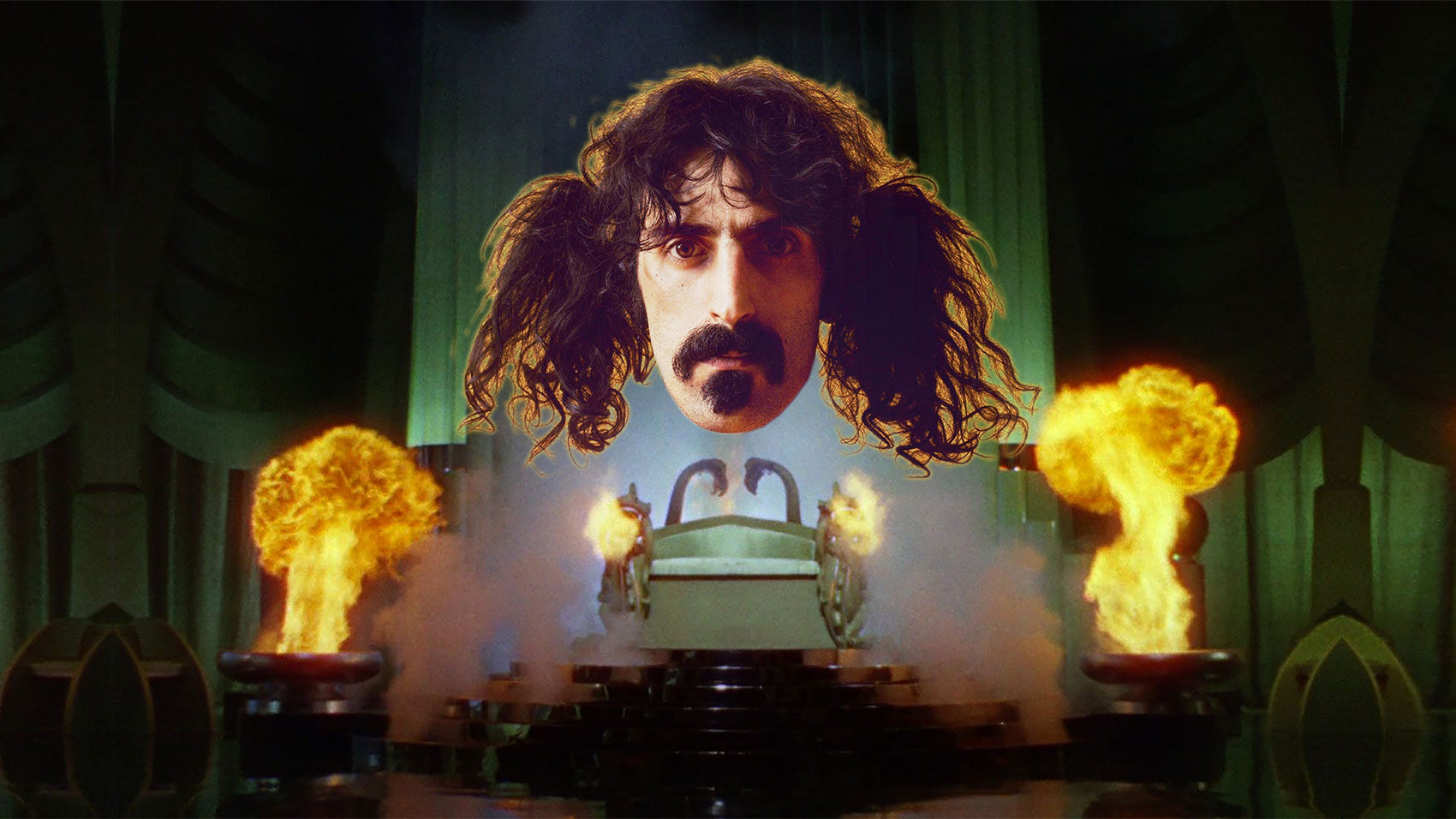 Frank Zappa Image Courtesy of RIOT FEST