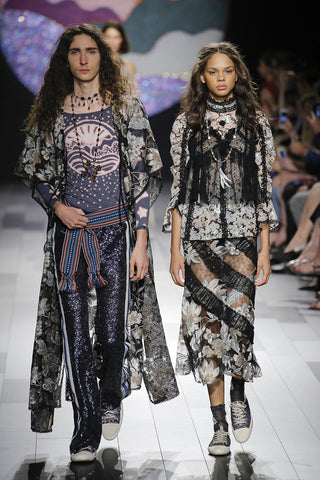 NYFW review by Miista. Image: Anna Sui