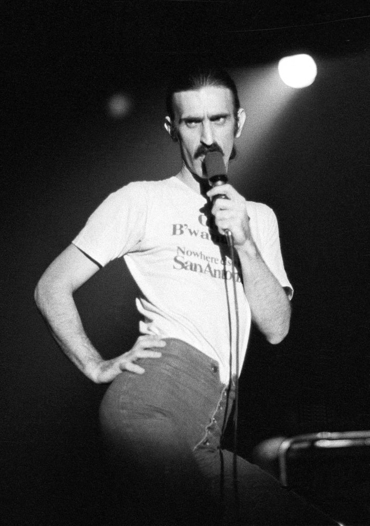 Frank Zappa Image Courtesy of Timesunion.com