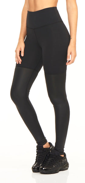 2 Toned Legging - Black Onyx Shine - Lukka Lux