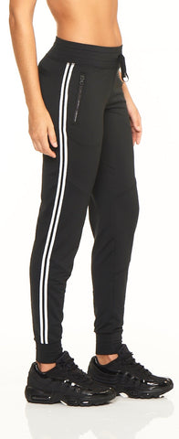 Singled Out Jogger - Black Onyx - Lukka Lux