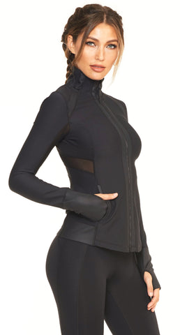 Lupin Antimatter Jacket - Black Onyx - Lukka Lux