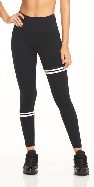 Splice 7/8 Legging - Black Onyx - Lukka Lux