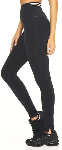 Split Legging - Black Onyx - Lukka Lux