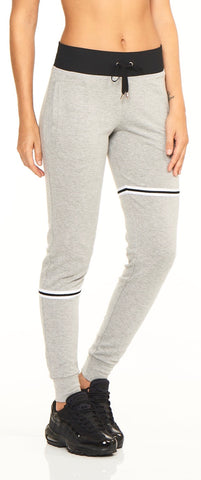 Tilted Jogger - Heather Gray - Lukka Lux