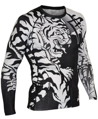Fuji MOKO Jiu Jitsu Rash Guard For NOGI Grappling MMA