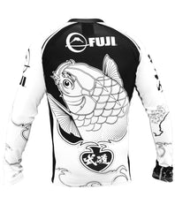 Fuji Sakana Jiu Jitsu Rash Guard For NOGI Grappling MMA