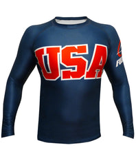 Fuji Sports USA Team Jiu Jitsu Rash Guard NOGI Grappling MMA