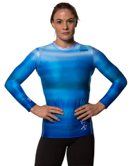 Fuji Women's Haiku Jiu Jitsu Rash Guard For NOGI Grappling MMA