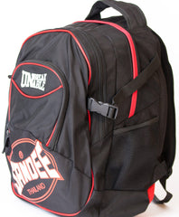 Sandee Heavy-Duty Black & Red Backpack