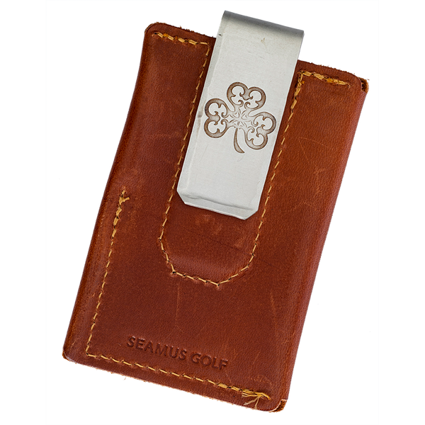 Seamus Leather Wallet &  Money Clip