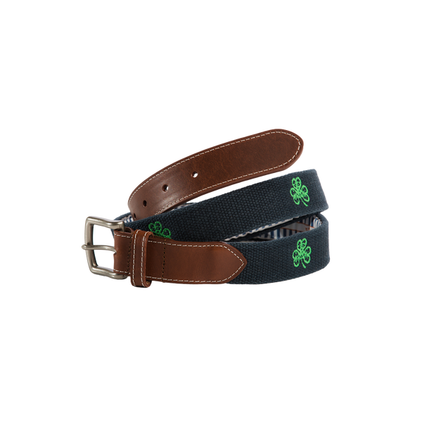 Peter Millar Embroidered Belt