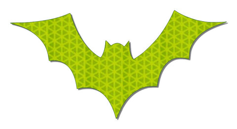 Bat Reflective Halloween Decal