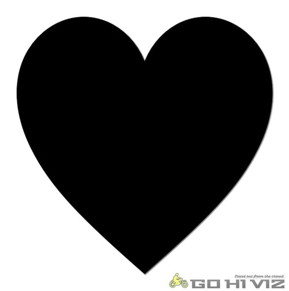 Heart Reflective Decal