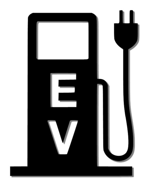 EV Charge Station Reflective Decal